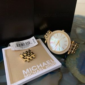 Michael Kors Gold and Diamond ladies watch